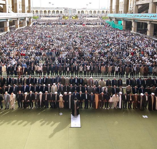 امید، عاشق و باران، نماز عید فطر 95
